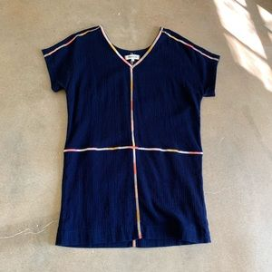 Madewell embroidered dress sz S